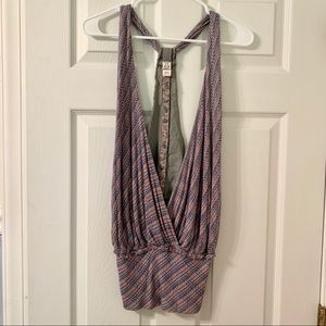 Free People Blouse with button down back NWOT